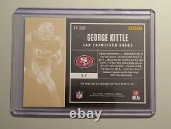 2017 Panini Contenders Football George Kittle Auto RC#282 Variation SF 49ers