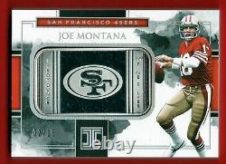 2018 Panini Impeccable Joe Montana 1 Oz Silver Bar Troy Ounce #d /15 Sp 49ers