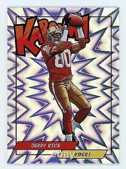 2018 Panini Jerry Rice Kaboom! Insert Refractor San Francisco 49ers SP