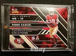 2019 Gold Standard DEEBO SAMUEL NFL Shield Nike Swoosh RC Auto True 1/1 49ers