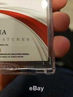 2019 Immaculate Joe Montana 49era HOF GOLD Signatures Acetate Auto 7/10