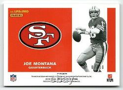 2019 Optic Joe Montana Legendary Prizm Auto Jersey /10 49ers QB HOF