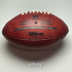 2019 San Francisco 49ers 100yr Logo Game Issued Wilson The Duke NFL Football