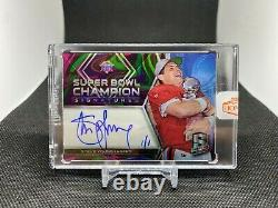 2020 Honors Football 2018 Spectra Steve Young Super Bowl Champ Auto 1/1