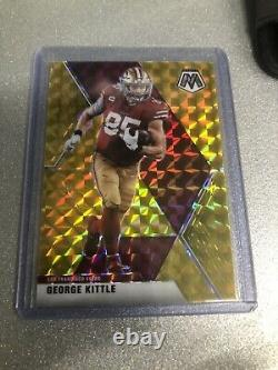 2020 Mosaic Prizm Football- George Kittle- Gold 03/10 49ers
