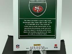 2020 Panini Donruss Jerry Rice Downtown D-JR Football Card