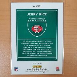 2020 Panini Donruss Optic JERRY RICE Downtown Holo Silver Prizm 49ers SSP READ