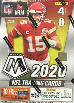 2020 Panini Mosaic NFL Football Blaster Case (20) Factory Sealed In Hand