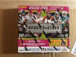 2020 Panini Rookies & Stars NFL Football Longevity Mega Box 1 Autographed Card