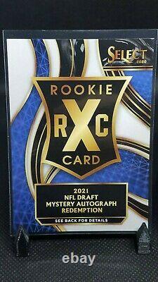 2020 Select Football XRC Mystery Auto 3 RC Prizm Redemption QB #423 XRCAUTO03