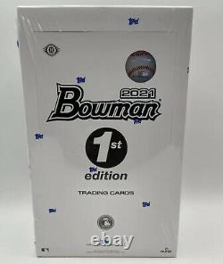 2021 Bowman Baseball 1st Edition Hobby Box Topps Cards Factory Sealed IN HAND