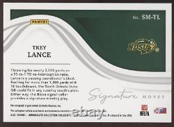 2021 Panini Immaculate Trey Lance 49ers Signature Moves Gold RC Auto /10