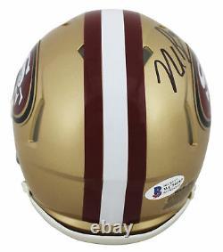 49ers Nick Bosa Authentic Signed Speed Mini Helmet Autographed BAS Witnessed