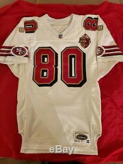 49ers jerry rice wilson jersey (not reebok, joe Montana, steve young) 44 vintage