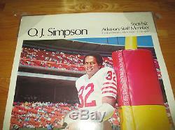 78 Spot-bilt Advisory O. J. SIMPSON San Francisco 49ers SPORTS ILLUSTRATED Poster