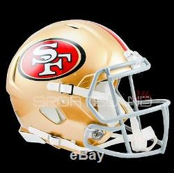 AUTHENTIC San Francisco 49ERS Riddell Speed Classic GAME Helmet
