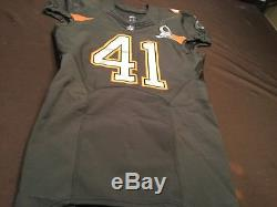 Antoine Bethea Game worn / issued 49ers Authentic Nike 2014 Pro Bowl Jersey REAL