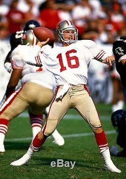 Authentic Mitchell & Ness Joe Montana SF 49ers Jersey Sz. 52