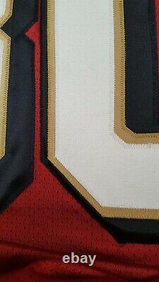 Authentic Pro Line Jerry Rice 49ers 1996 Reebok Jersey 50th Patch Medium