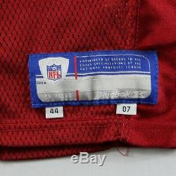 Authentic San Francisco 49ers 2007 Team Issue Pro Cut 44 Jersey Reebok #25