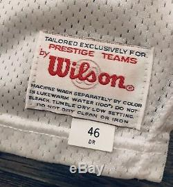 Authentic Wilson 49ers Jerry Rice 1994 75th Throwback Jersey 46 RARE