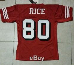 ebb25a849 Bnwt Jerry Rice 1994 San Francisco 49ers Mitchell   Ness Authentic Jersey  Sz 44
