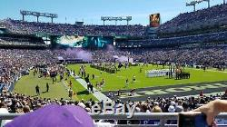 Baltimore Ravens vs San Francisco 49ers Lower Level 2 seats