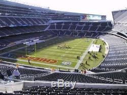 CHICAGO BEARS vs SAN FRANCISCO 49ers 2 TICKETS 12/04/16