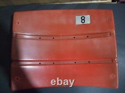 Candlestick Park Stadium seat back 8 Steve Young San Francisco 49ers Red