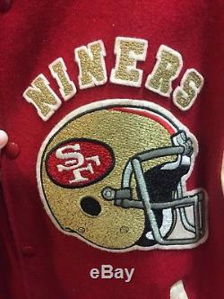 Chalkline Vintage 49ers Varsity Jacket Vtg 9ers 49ers SF San Francisco Giants