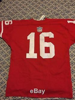 big sale 8b2c9 92b45 Champion Throwback Jersey Collection Vintage 49ers Joe ...