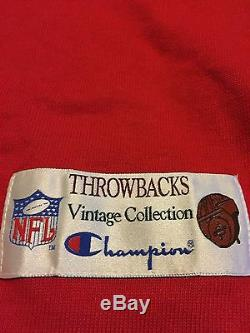 Champion Throwback Jersey Collection Vintage 49ers Joe Montana New With Tags