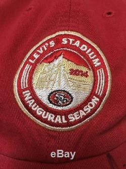 Colin Kaepernick Auto Autograph Hat Cap San Francisco 49ers Levi's Stadium