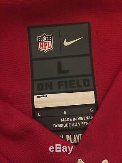 Colin Kaepernick San Francisco 49ers Nike On Field Super Bowl XLVII Jersey L