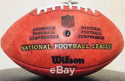 Colin Kaepernick San Francisco 49ers Signed Wilson Duke NFL Football PSA/DNA