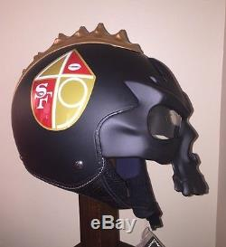 Concept San Francisco 49ers 1Storm Skull Motorcycle Helmet Size Large New