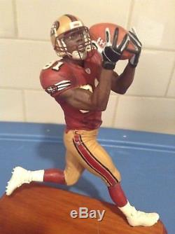 DANBURY MINT SAN FRANCISCO 49ers TERRELL OWENS //// VERY GOOD CONDITION