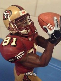 Danbury Mint San Francisco 49ers Terrell Owens /// Great Condition
