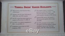 Danbury Mint Terrell Owens NFL Hof San Francisco 49ers Figure Figurine! Nib Rare