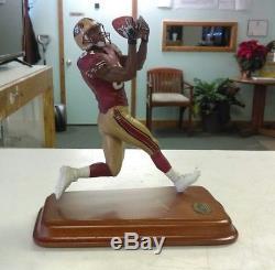 Danbury Mint Terrell Owens NFL San Francisco 49ers Figure Figurine Rare