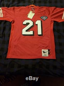 Deion Sanders Authentic Mitchell & Ness throwback 49ers jersey