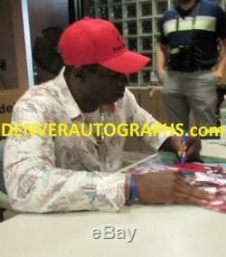 Deion Sanders Autographed/Signed San Francisco 49ers 16x20 Photo JSA 21963