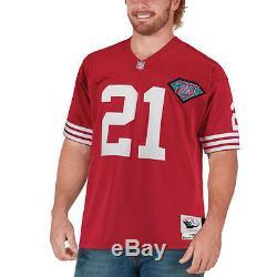Deion Sanders Mitchell & Ness San Francisco 49ers Football Jersey NFL