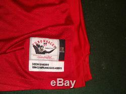 Deion Sanders San Francisco 49ers AUTHENTIC Mitchell & Ness jersey Size 56 / 3XL