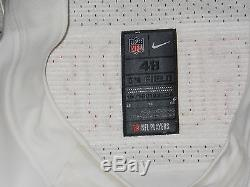 Frank Gore San Francisco 49ers White Authentic Nike Elite Jersey sz 48 with tags