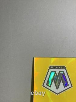 Gem! Ssp #18/20 2020 Brandon Aiyuk Fluorescent Gold Mosaic Prizm Rookie Rc