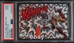 George Kittle 2020 Panini Kaboom! #KGK 49ers Card RARE Low Pop 7 PSA 9 Mint