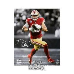 George Kittle Autographed San Francisco 49ers 16x20 Photo BAS COA (Vertical)