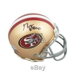 George Kittle Autographed San Francisco 49ers Mini Football Helmet BAS COA