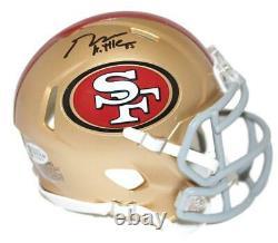 George Kittle Autographed San Francisco 49ers Speed Mini Helmet BAS 25874